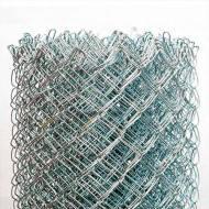 Сетка Рабица оцинкованная 50х50. h-1.2м. d-1.6. рулон 10 м