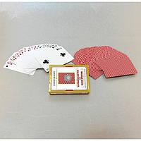 Карты игральные для игры в покер VA28, 9*6.5*1.5 см, ламинированная бумага, Карты ламинированные, Покер, Карты для покера, Карты игральные
