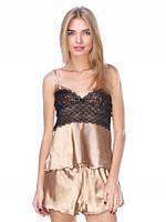 Летняя женская пижама с шортами