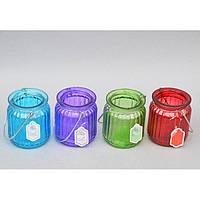 """Подсвечник декоративный для свечей """"Bottle"""" KX9983, металл, 9x7 см, 4 цвета, подставка для свечи, подсвечник для декора, декор-подсвечник"""