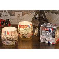 """Свеча декоративная для дома """"Amazing Places"""" S642, в стакане, размер 70х70 мм, парафин / стеорин, ароматизированная, ароматическая свеча, декоративная"""