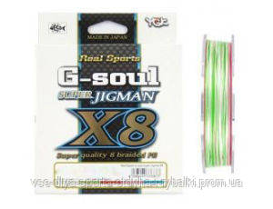Шнур плетеный Super Jig Man X8 200m  #1,5/30 lb