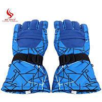 БЕНИЦЕ паре унисекс теплая Защита водонепроницаемые перчатки - Синий