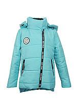Куртка для девочки  674 весна-осень, размеры на рост от 122 до 140 возраст от 6 до 10 лет