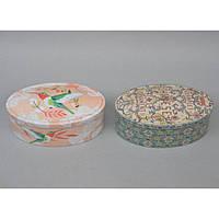 "Шкатулка металлическая для хранения мелочей ""Птичка"" CF07, размер 7х18х11 см, 4 вида, шкатулка под бижутерию, шкатулка из металла"