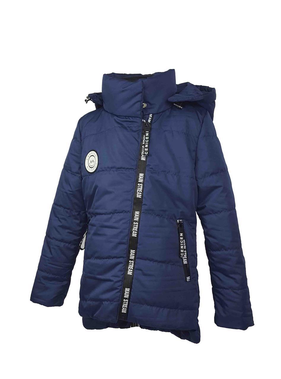 Куртка для девочки  674 весна-осень, размеры на рост от 122 до 140 возраст от 6 до 10 лет, фото 1