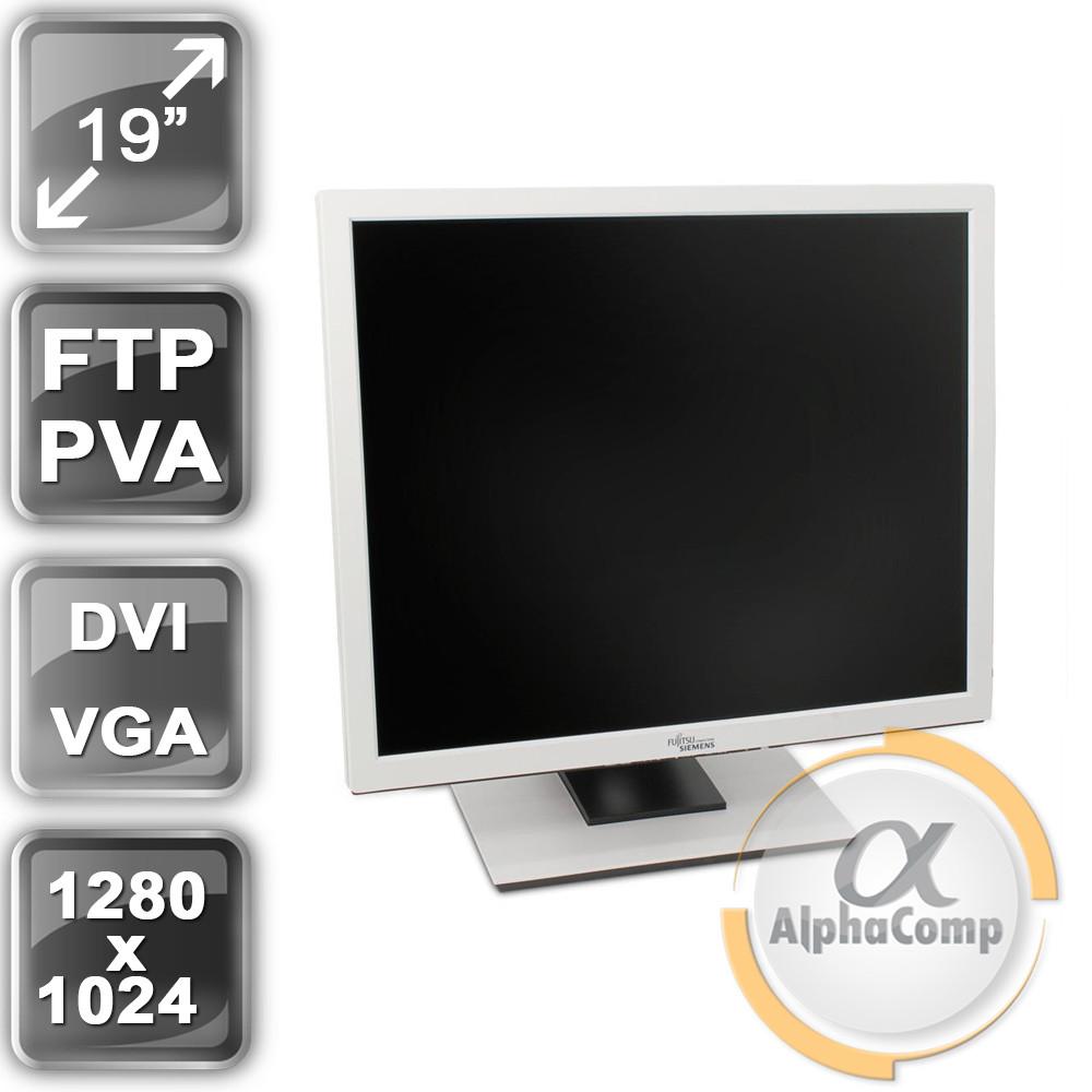 """Монітор 19"""" Fujitsu B19-3 (PVA/5:4/VGA/DVI/колонки) class A БУ"""
