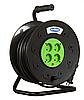 Удлинитель SVITTEX на катушке 25 м на 4 гнезда с сечением провода 2х2,5 мм², код SV-018