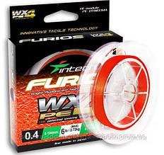 Шнур плетеный Intech FURIOS PE WX4 150m #0,4-0.104mm (2.72 kg)