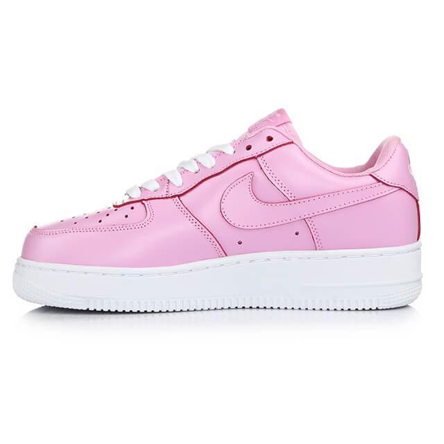 Nike Air Force 1 Low Pink. Кроссовки розового цвета. Стильные кроссовки. Качественные кроссовки.