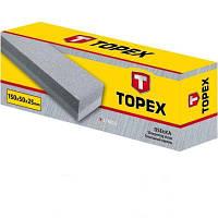 Точильний камінь Topex 150х50х25мм (17B815).