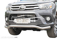 Изогнутый ус для Toyota Fortuner 2015 - … от ИМ Автообвес