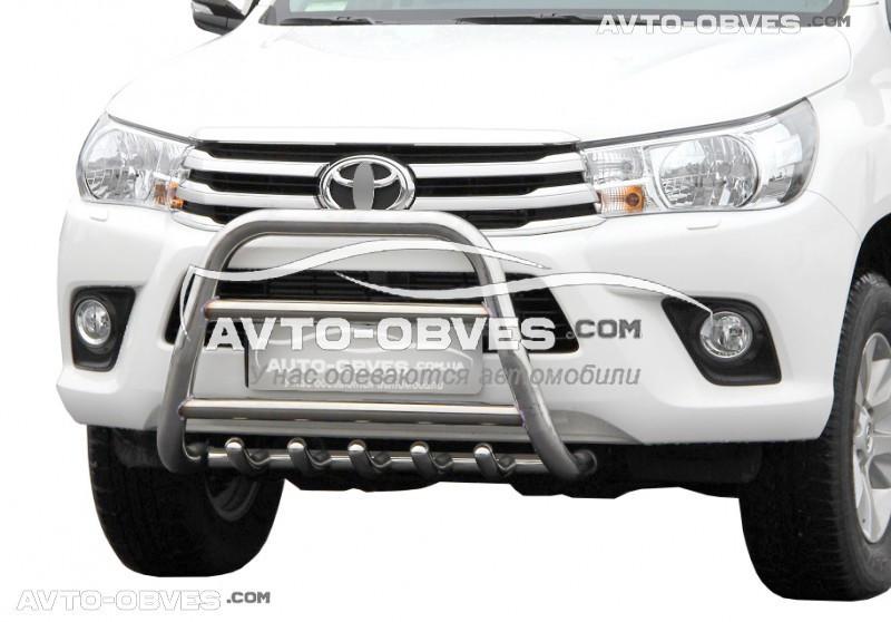 Кенгурятник Toyota Fortuner 2015-… вариант №2 (п.к. RR04)