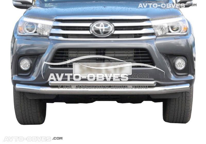 Захисна дуга подвійна Toyota Fortuner 2015-...