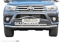 Защитная дуга двойная Toyota Fortuner 2015 - …