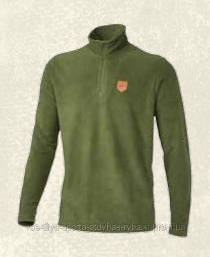 Флисовая кофта Jahti Jakt Ahma ½-zip Fleece Ux Ivy Green