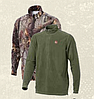 Флисовая кофта Jahti Jakt Rowan ½ zip Fleece Top Green