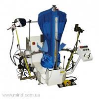 Автоматический пароманекен ЛПМ 314.03 для плечевой одежды в комплекте с парогенератором (20 л) и паровым утюгом