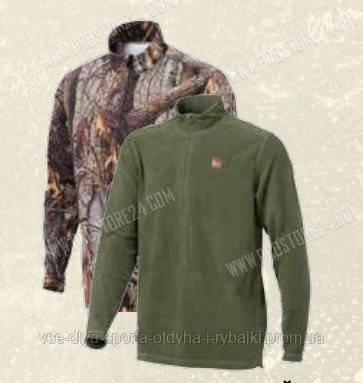 Флисовая кофта Jahti Jakt Rowan ½ zip Fleece Top Brown