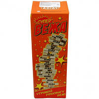 Игра настольная Супер Вежа | игра Джанга | игра Падающая башня
