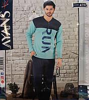 Мужская пижама с пуговицами AYANS 4197
