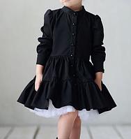 Детское платье -  с под.юбником, фото 1