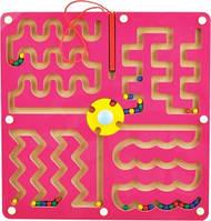 Деревянный лабиринт с шариками-Змейка Д280