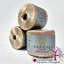 Пряжа Принцесса Princess Gazzal, № 3011, розово-кофейный