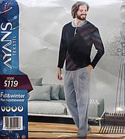 Мужская пижама с пуговицами AYANS 5119