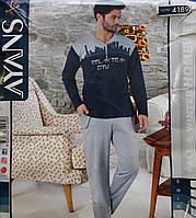 Мужская пижама с пуговицами AYANS 4189