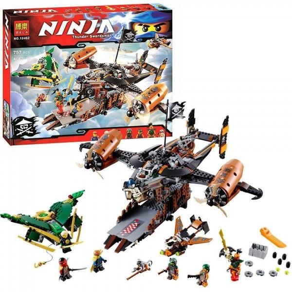Конструктор Bela 10462 Ninja Ниндзя Ninjago Ниндзяго Цитадель Несчастья 757 дет