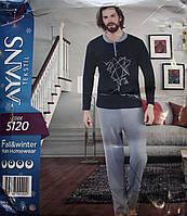 Мужская пижама с пуговицами AYANS 5120