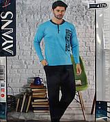 Мужская пижама с пуговицами AYANS 4176
