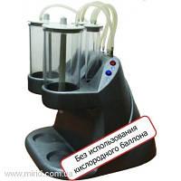 Аппарат для приготовления синглетно-кислородных коктейлей (пенок) МИТ-С двухканальный (настольный вариант)