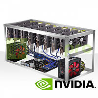 Майнинг ферма на 8 GPU GTX 1080TI 11GB