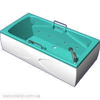 Бальнеологическая ванна Астра ВБ-02 с системами подачи газа и гидромассажа