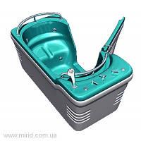 Бальнеологическая ванна Комфорт ВБ-02 с боковой дверью и системой гидромассажа (14 водных форсунок)
