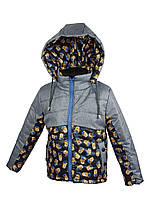 Куртка для мальчика 679 весна-осень, размеры от 80 до 98, возраст от 1 до 4 лет, фото 1