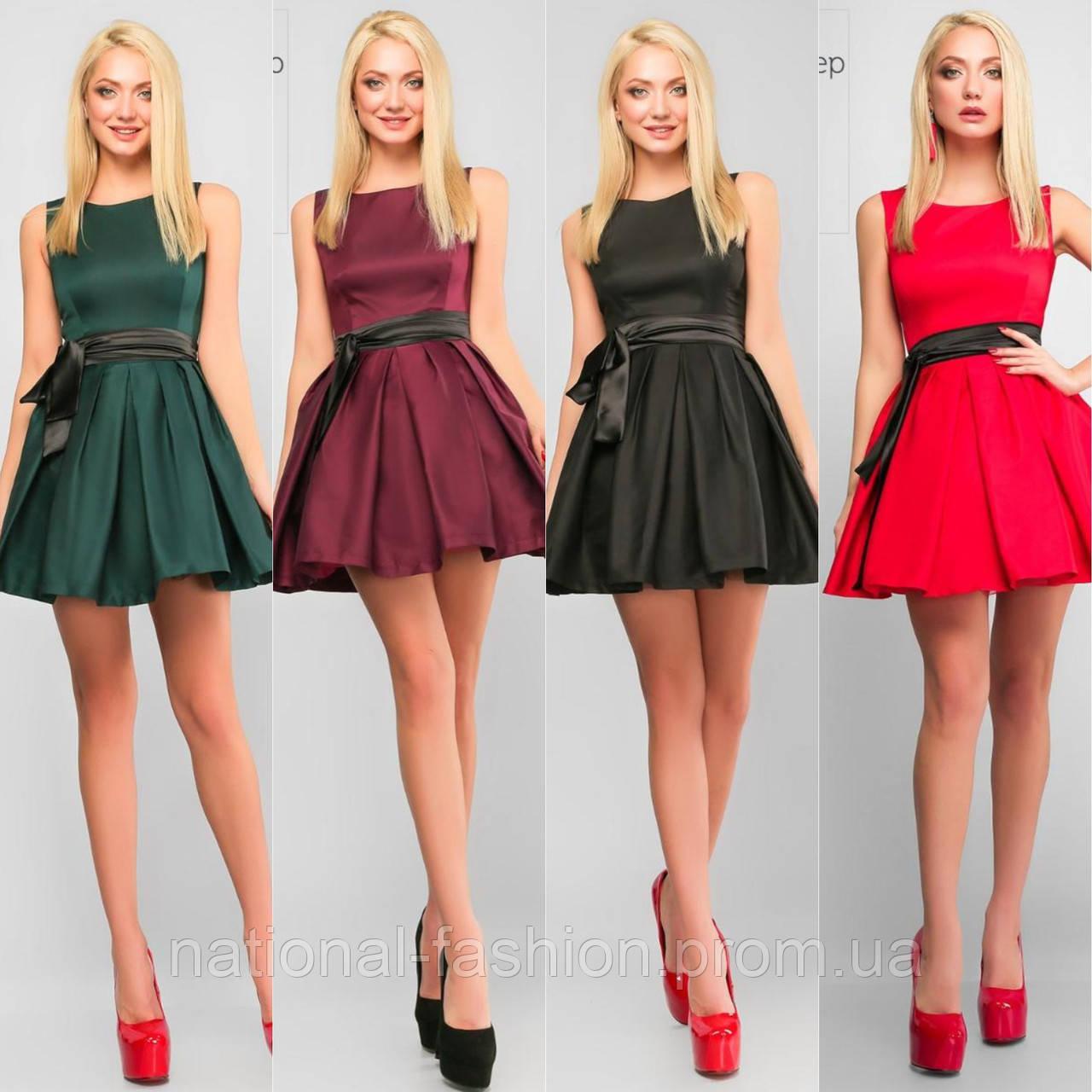 2a82a67fce3e28 Платье пышной юбкой в стиле baby doll 608 (р. 44-46), цена 1 300 грн ...