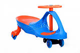 Дитяча машинка  Smart Car new blue+orange до 100кг, фото 2