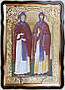 Святые Петр и Феврония 80х60см (110х80см)