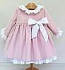 Детское платье -  с  бантом