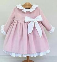 Детское платье -  с  бантом, фото 1