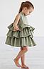 Детское платье -  с  воланами