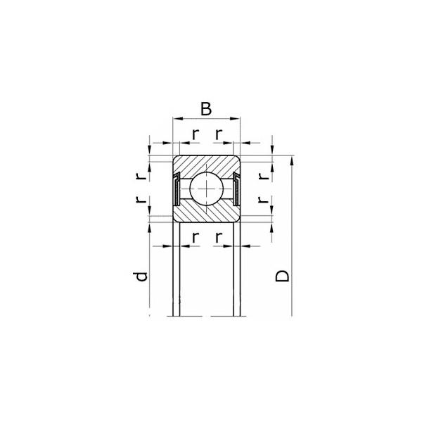 Подшипник 180205 (8ГПЗ) ЗиЛ-130, КСК-100, Т-150, ДТ-75