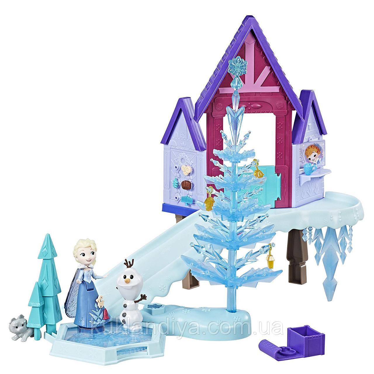 Игровой набор Frozen Праздник в Аренделе с Эльзой