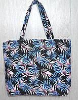 Пляжная, городская сумка с цветочным принтом