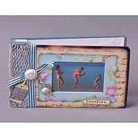"""Фотоальбом картонный для фотографий """"Vacation"""" JX2254, размер 21х13 см, альбом для фотографий, фото-альбом"""