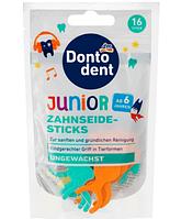 DONTODENT детская зубная нить Floss Stick Junior 16шт
