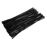 ELECALL ELE-5 x 400 Самоблокирующиеся кабельные стяжки 100шт Чёрный